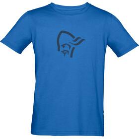 Norrøna /29 Cotton Viking - Camiseta manga corta Niños - azul